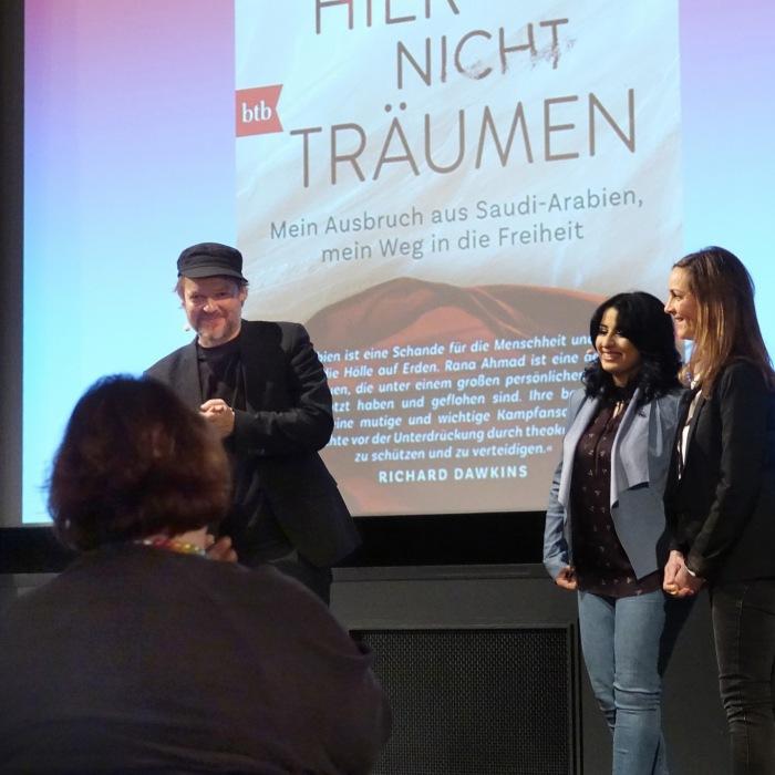 """Buchvorstellung """"Frauen dürfen hier nicht träumen"""" (Berlin, Januar 2018)"""