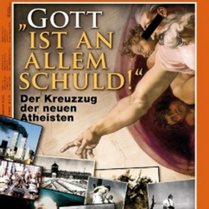 Spiegel-Titel: Gott ist an allem schuld